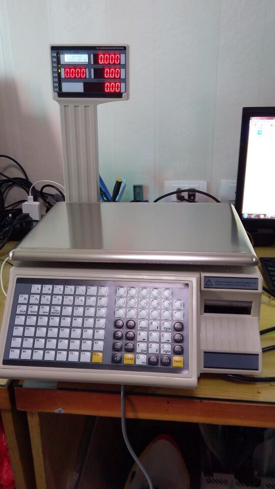Cân siêu thị ATS-F5000 in mã vạch